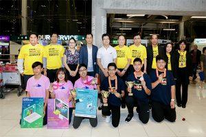 เยาวชนวิทยาศาสตร์ไทยที่สร้างผลงานให้กับประเทศ
